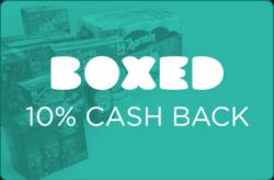 Boxed 10% Cash Back