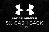 Under Armour 5% Cash Back