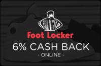 Foot Locker 6% cash back