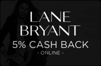 Lane Bryant 5% cash back
