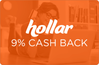 Hollar 9% Cash Back