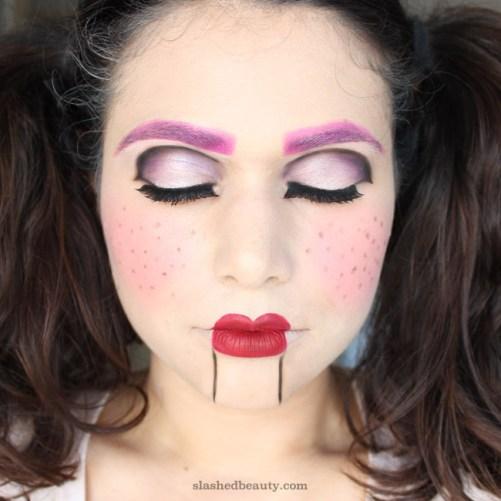 Ventriloquist Doll Face Paint