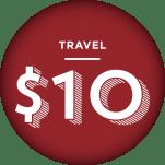 Travel - $10