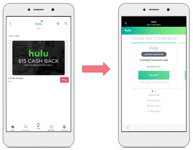Love streaming your favorite movies & TV shows? Start with Ibotta UI Screen. Earn cashback for new Hulu subscribers. The best of Hulu Deals and Hulu coupons!