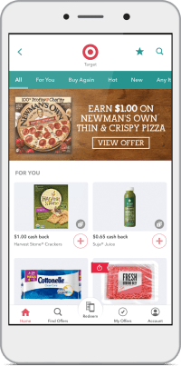 Phone Screen, gallery of Target offers