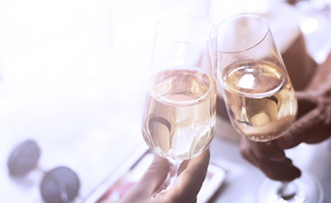 Enjoy a Glass of Champagne on Ibotta