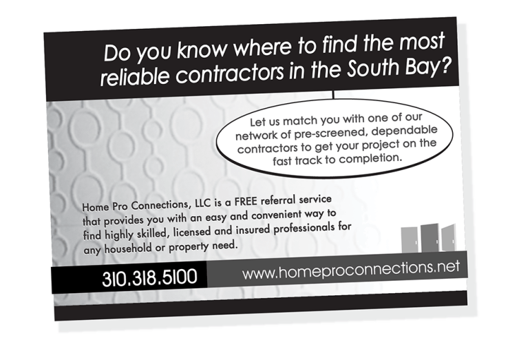 Print - Newspaper Advertising - Client: Home Pro Connections
