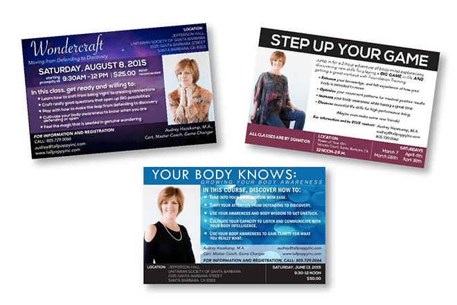 Print - Web - Advertising - Flyer Design - Client: Tall Poppy Inc.