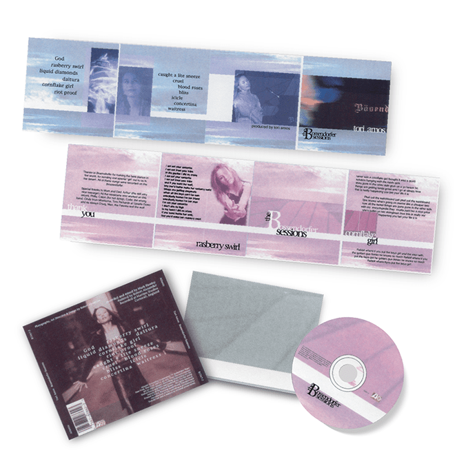 Print - Entertainment - Music - Tori Amos - Concept - CD Packaging - Concept - Misc - Client: Confidential