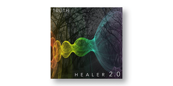 Web - Entertainment - Music - Cover Art Design - Healer 2.0 - Client: Trüth