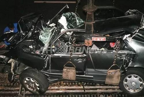 ダイアナ妃 交通事故