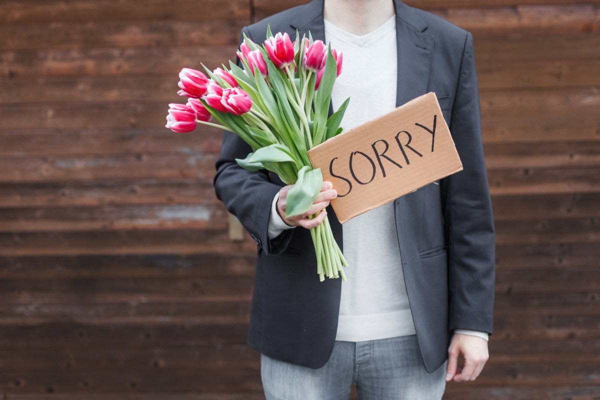 Apologize Already