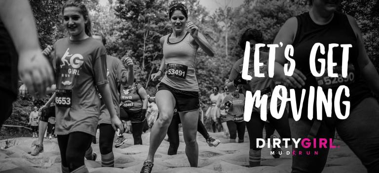 Free Dirty Girl Mud run bootcamp/obstacle race workout!