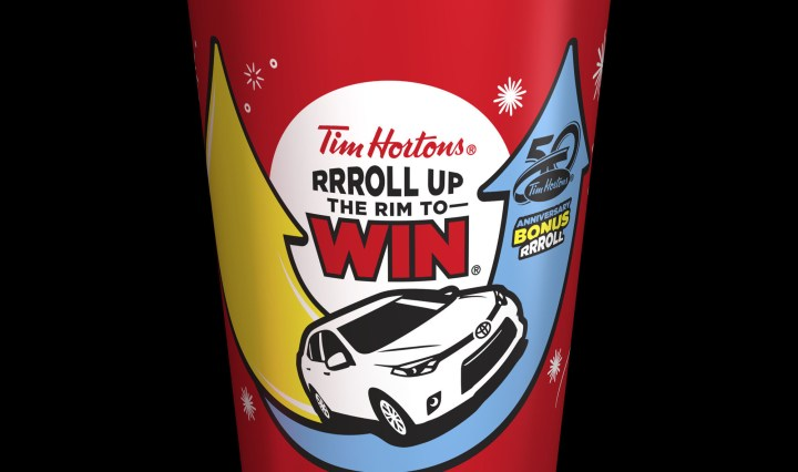 "TIM HORTONS - Sign a ""Pre-Cup"" Before You Roll Up"