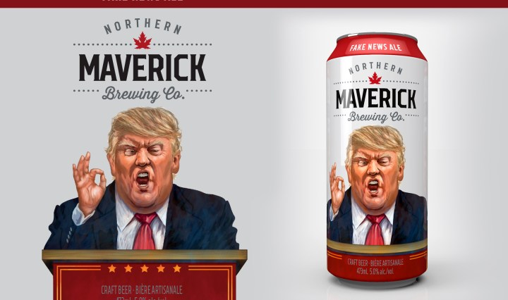 Fake News Beer Coming to Canada