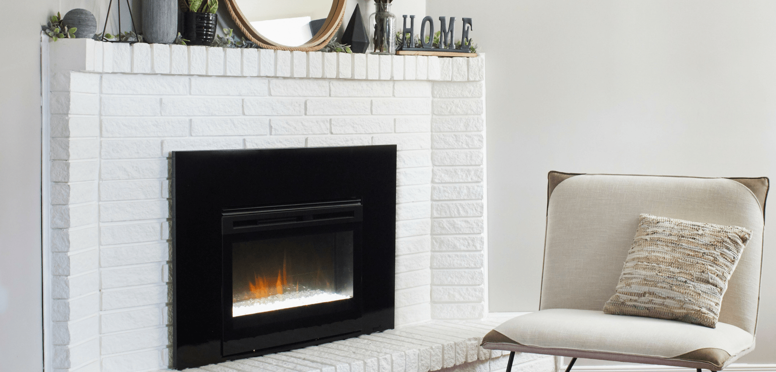 Gas to Electric Fireplace Remodel - Dimplex North America