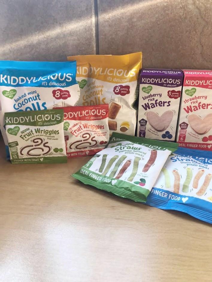 Kiddylicious healthy snacks