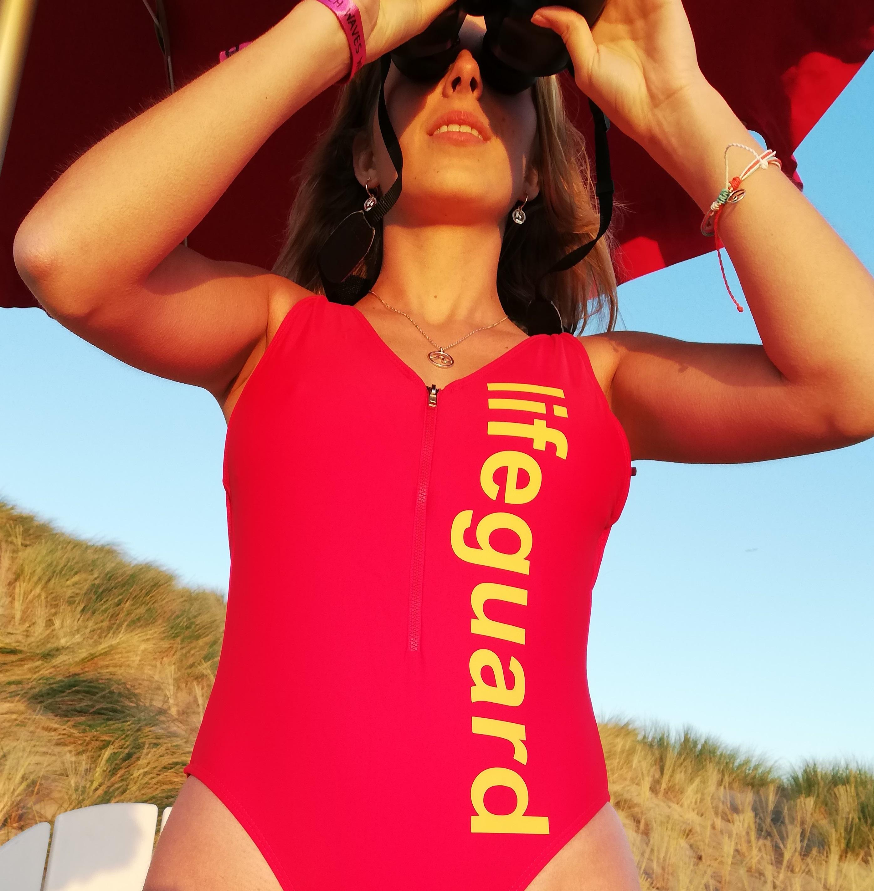 Baywatch Badpak Kopen.Lifeguard Badpak Met Rits Lifesaving Shop