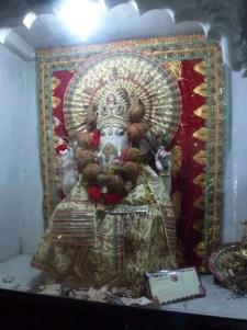 Ganesh - the Hindu god invoked at the start of any ritual