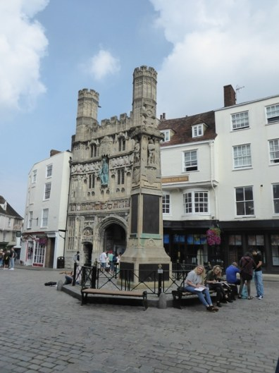 Butter Market Square & Canterbury Gate Hotel