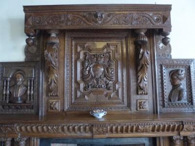 Carved Mantlepiece
