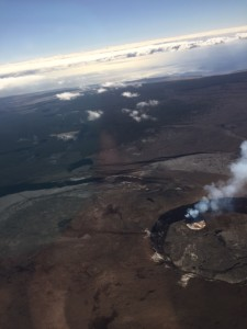 High Above the Volcano