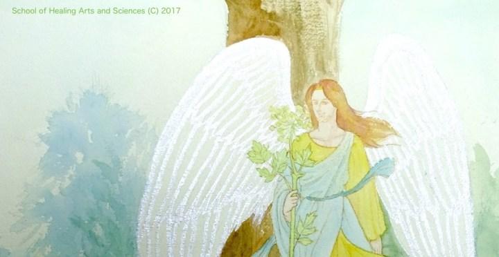 見守る天使