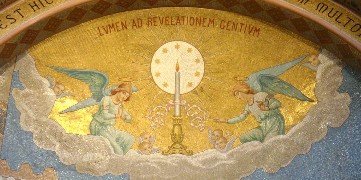 ルルドの天使(壁画)