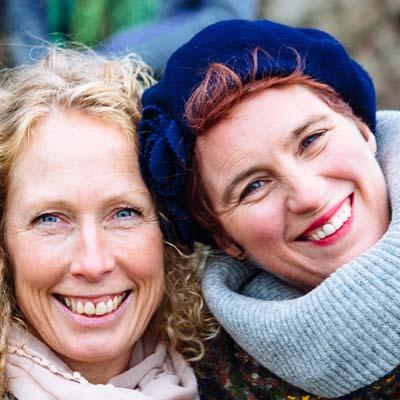 Lise Matthews & Amy Desborough - Nutrition Advice - The Ark - Haverfordwest - Wales