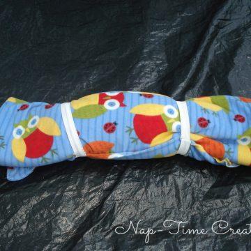 Kids sleeping bag tutorial