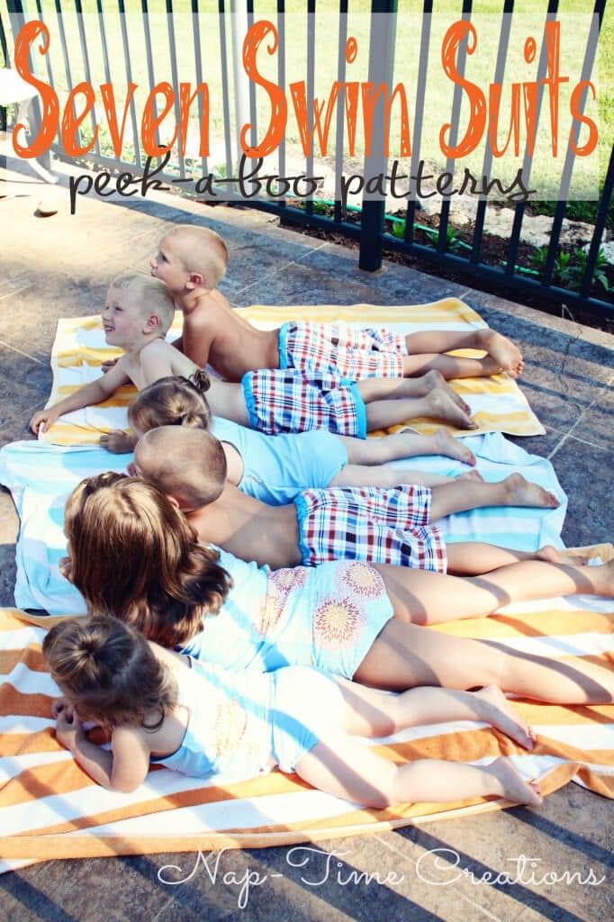 Swimsuit pattern for kids3