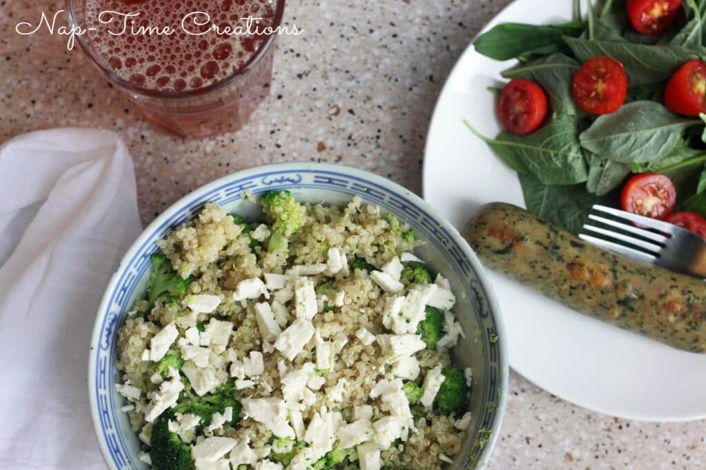 quinoa with broccoli4