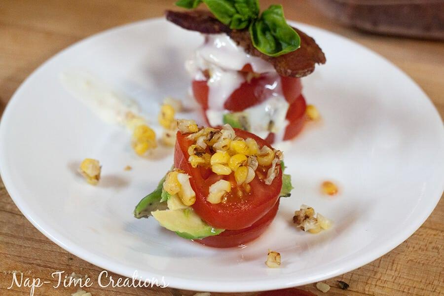 tomato salad stack 2