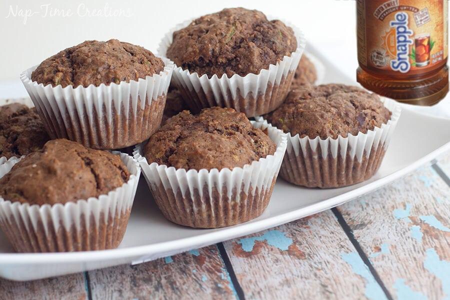 sorta sweet tea and zucchini muffin recipe 1