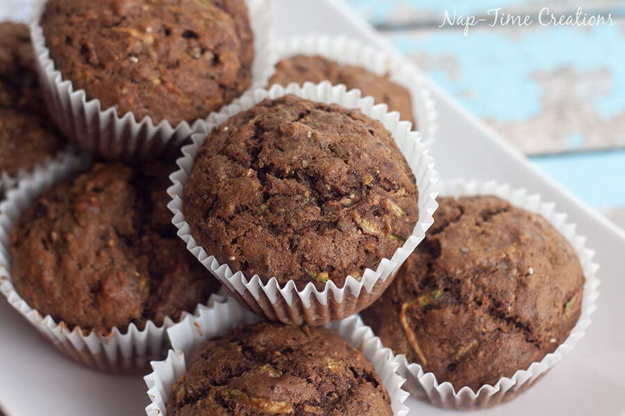 sorta sweet tea and zucchini muffin recipe 6