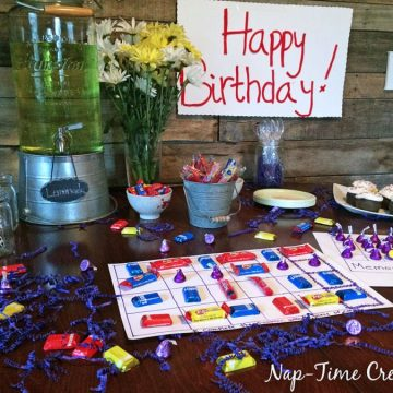 Candy Birthday Party