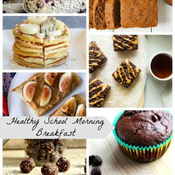 Healthy School Morning Breakfast from Nap-Time Creations