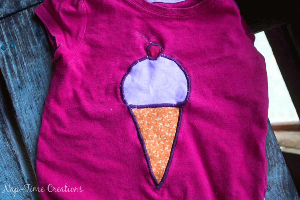 Ice-cream-applique