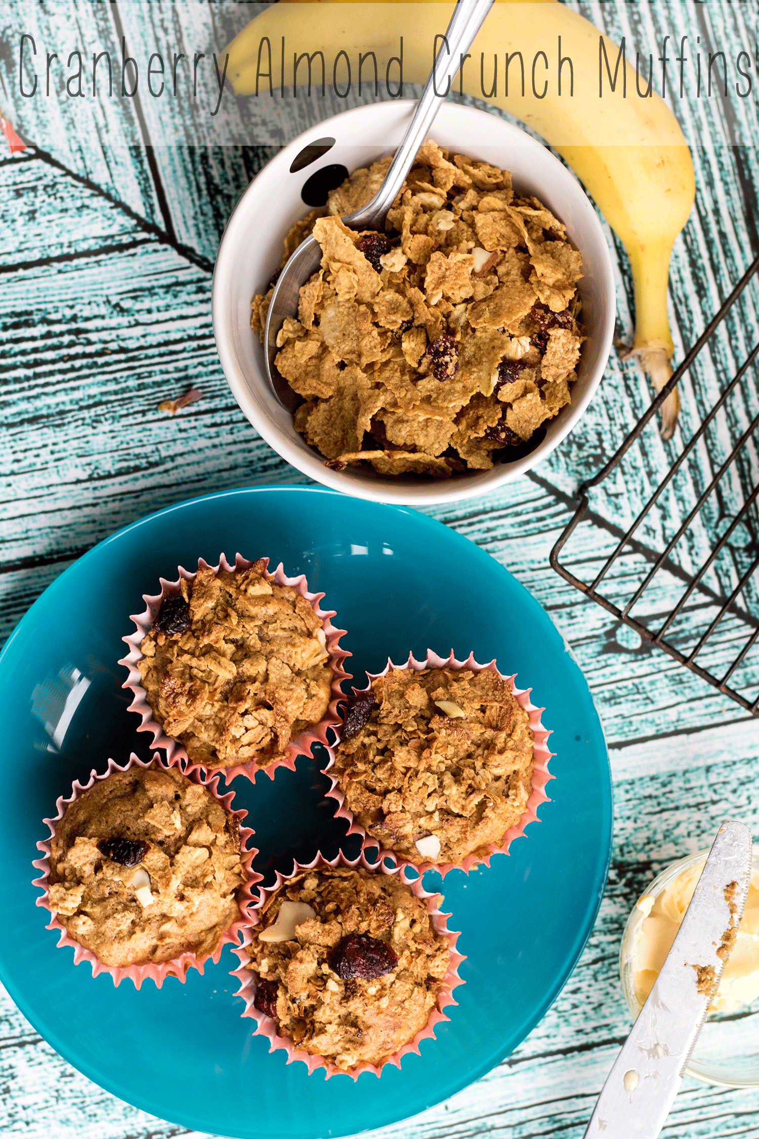 Cranberry Almond Crunch Muffins Great-Grains-Cereal-Muffins-Cranberry-Almond-Crunch-by-Nap-Time-Creations