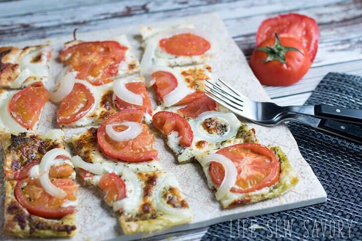 savory puff pasty appetizer