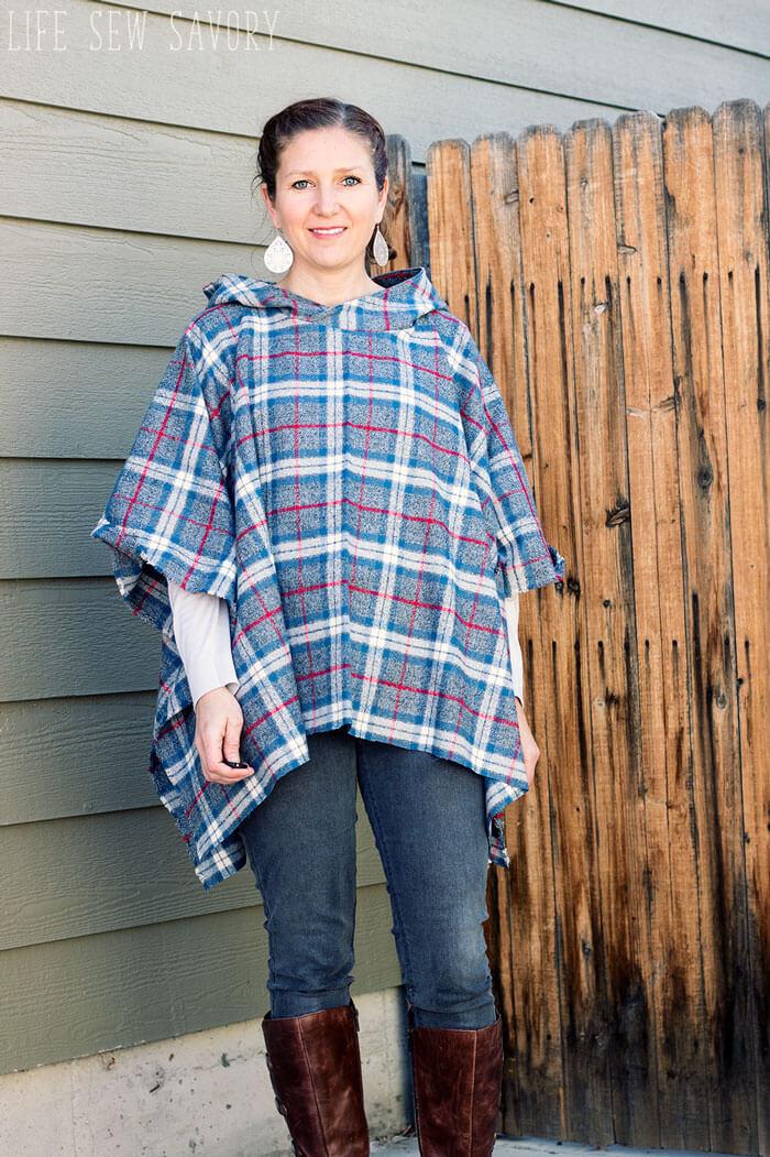 Oversized Hood Pattern : oversized, pattern, Hooded, Sewing, Tutorial, Savory