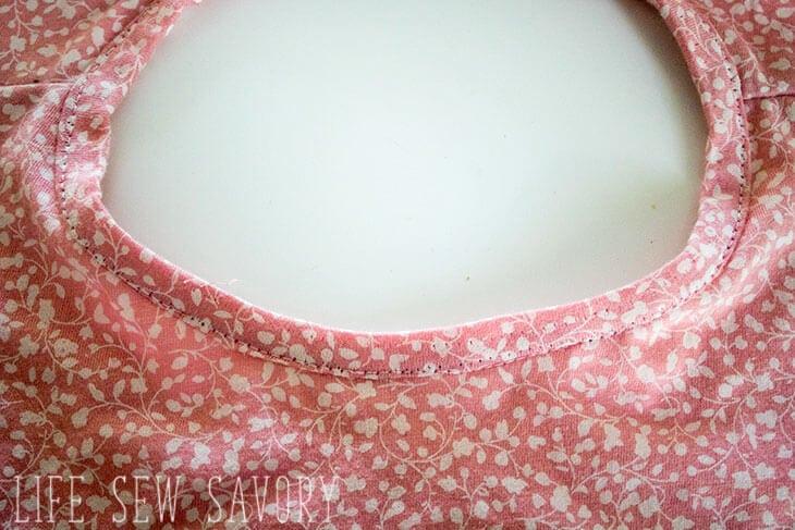 girls swing tee sewing pattern