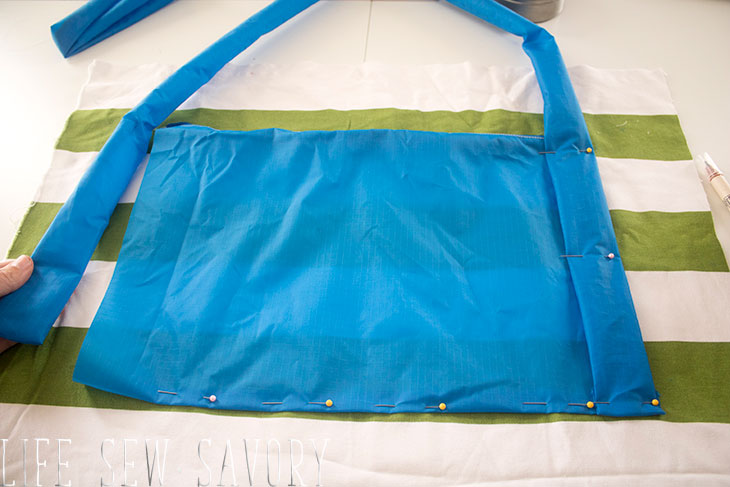 beach bag sewing tutorial