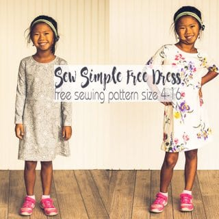 How to Sew a Dress - Free Sewing Pattern