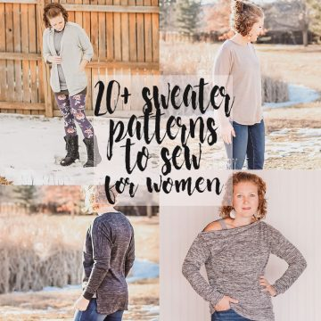 sweater sewing patterns to sew this winter