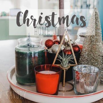 Life Sew Savory Home Tour for Christmas