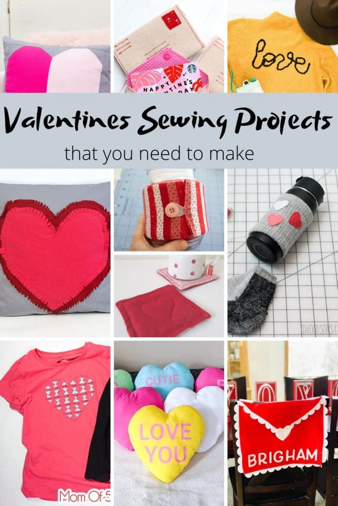valentines sewing projects