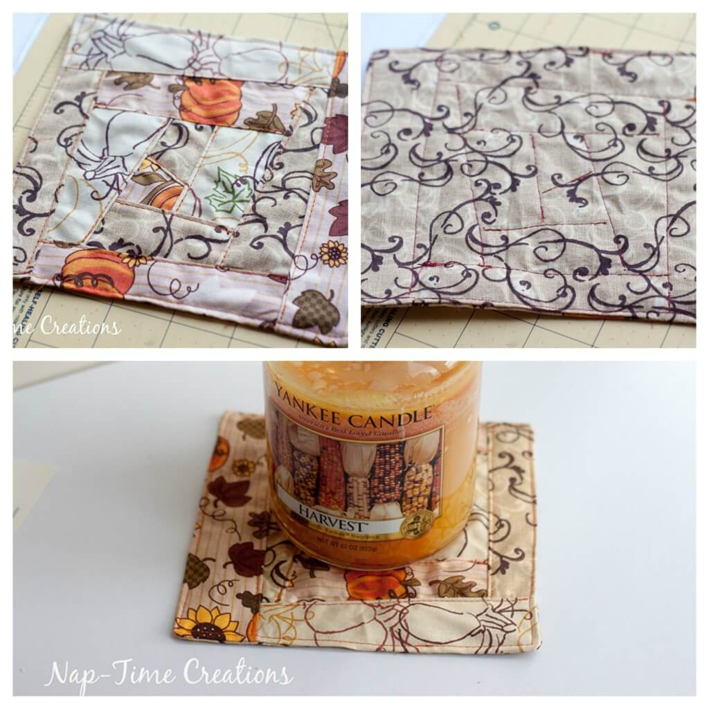 candle home decor sewing tutorial