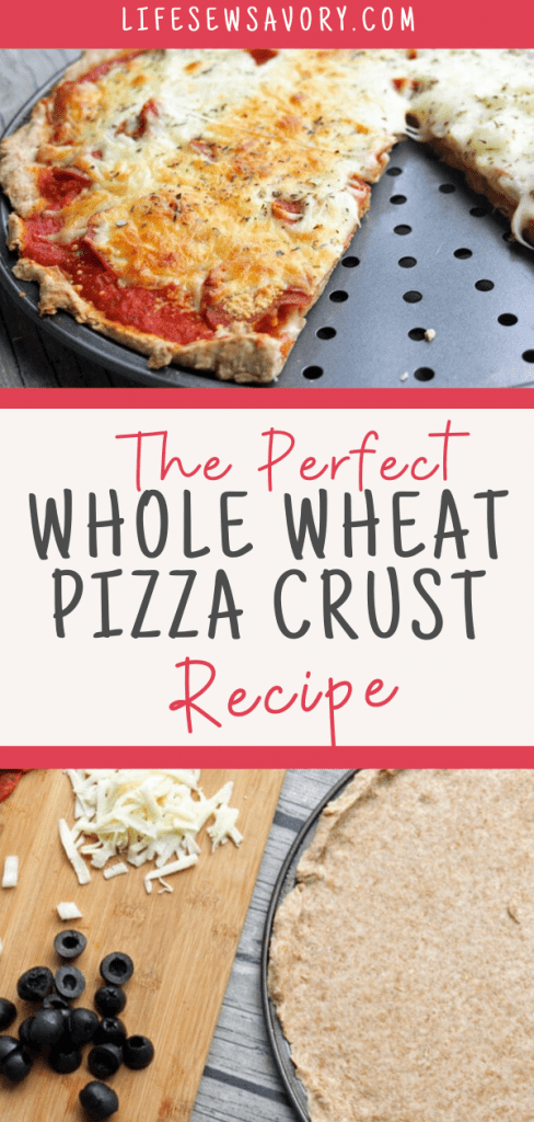 Whole wheat pizza crust recipe