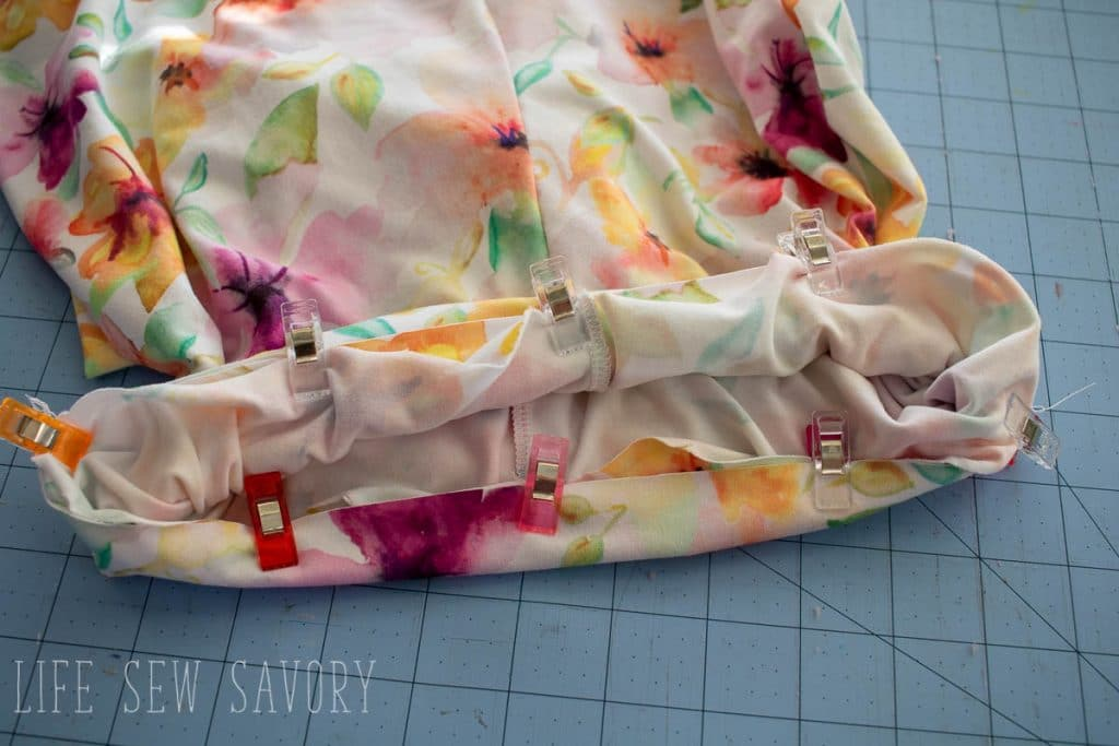 leggings waistband sewing tutorial